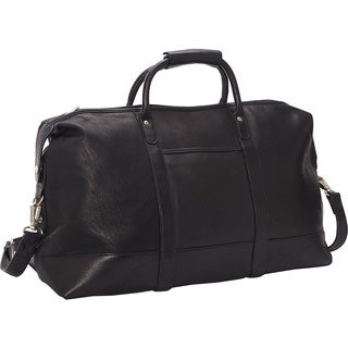 LeDonne Leather Vaqueta 24-inch Classic Duffel Bag