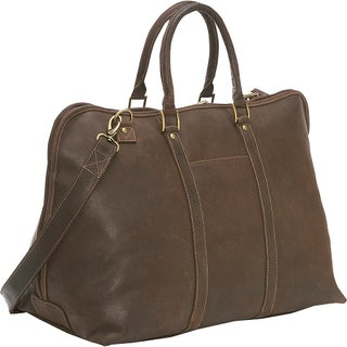 LeDonne Leather Distressed Leather Getaway 25-inch Duffel Bag (2 options available)