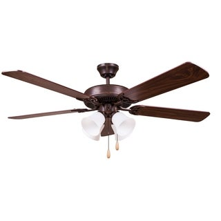 Y-Decor Oil Rubbed Bronze 52-inch Ceiling Fan