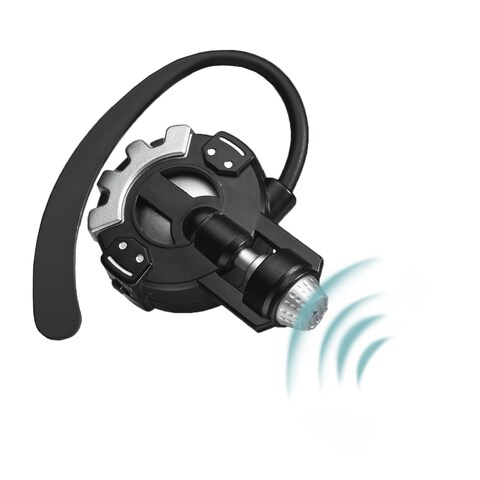 SpyX Micro Super Ear - hear the enemy from far away, hands free - Black
