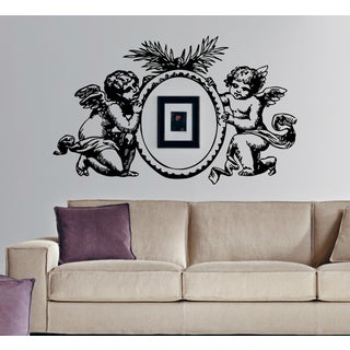 Photo Frame angels wings Wall Art Sticker Decal