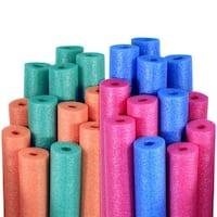 Robelle Water Noodles Blue, Pink, Teal, and Orange 24-Pack