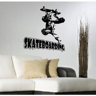 Skateboard athlete water sports Wall Art Sticker Decal