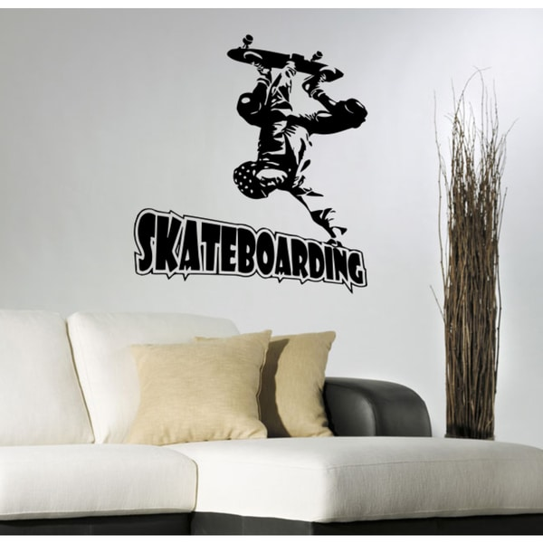 Skateboard athlete water sports Wall Art Sticker Decal
