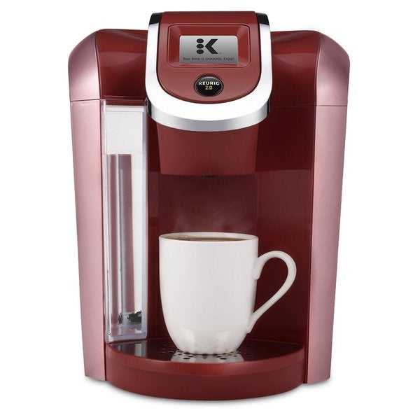 How To Use Red Keurig Coffee Maker : Keurig K475 Coffee Maker - Vintage Red - Free Shipping Today - Overstock.com - 18623700