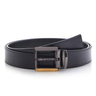Versace Collection 202 Black Leather Adjustable Belt|https://ak1.ostkcdn.com/images/products/11701522/P18625551.jpg?impolicy=medium