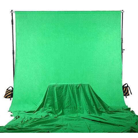 Shutter Starz Premium Chromakey Green Screen Economy Muslin Backdrop