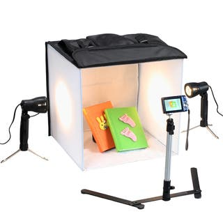 Square Perfect 16 Inch Studio In a Box Light Tent Cube for Quality Photography|https://ak1.ostkcdn.com/images/products/11701543/P18623740.jpg?impolicy=medium