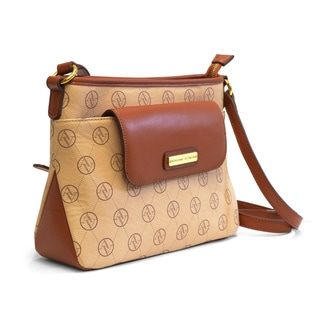 Adrienne Vittadini Signatue Crossbody Handbag