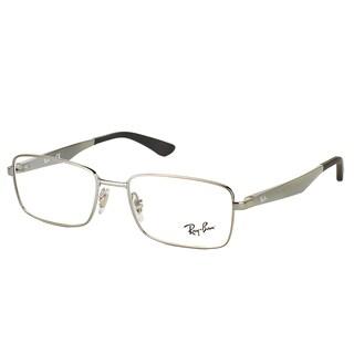 Ray-Ban RX 6333 2502 Gunmetal Metal Rectangle 54mm Eyeglasses