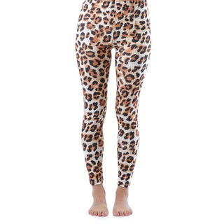 Juniors' Ankle Length Cheetah Leggings