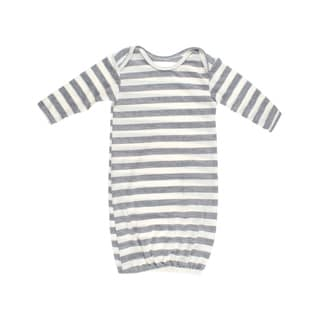 Crummy Bunny Grey Striped Baby Sleeper
