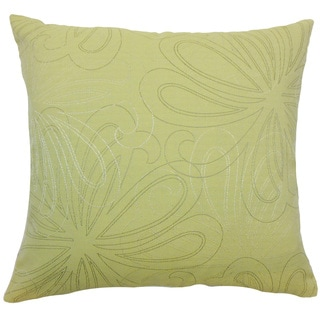 Pomona Floral Rose Throw Pillow