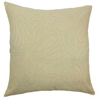 Pomona Floral Sage Throw Pillow