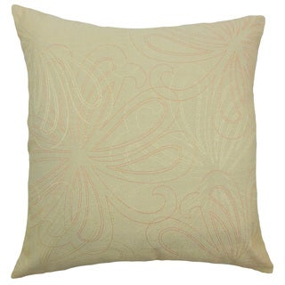Pomona Floral Sage Throw Pillow
