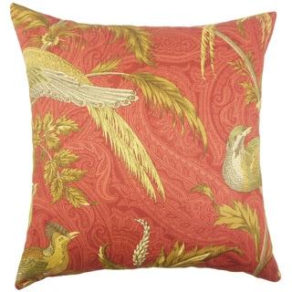 Ikaterina Graphic Sage Throw Pillow