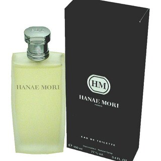 Hanae Mori Eau de Toilette Spray 3.4-ounce for Men