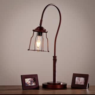 Harper Blvd Oliver Table Lamp. Rustic Table Lamps For Less   Overstock com