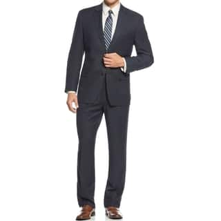 IZOD Men's Two-Piece Navy Regular Fit Suit|https://ak1.ostkcdn.com/images/products/11701842/P18625767.jpg?impolicy=medium