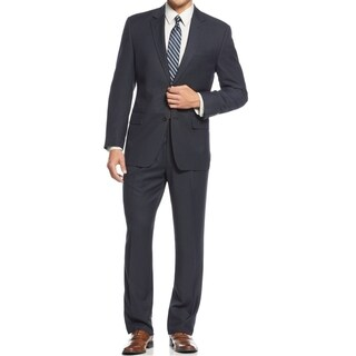 IZOD Men's Two-Piece Navy Regular Fit Suit