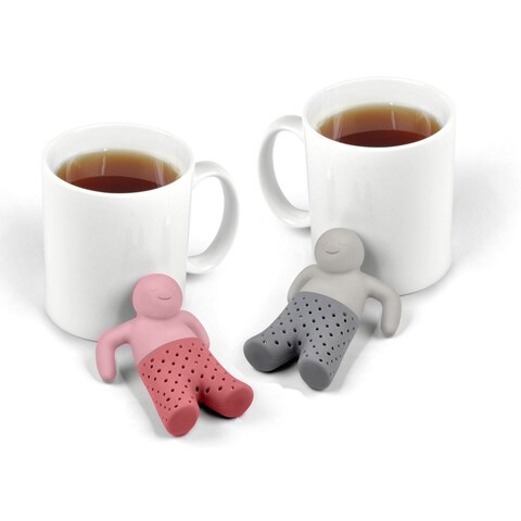 His N' Hers Silicone Tea Infuser Set (Set of 2)