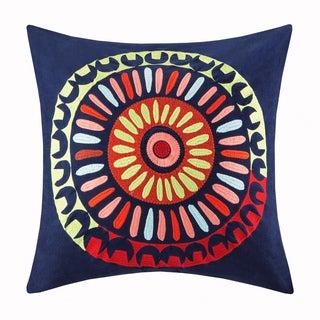 Josie by Natori Hollywood Boho Cotton Square Throw Pillow