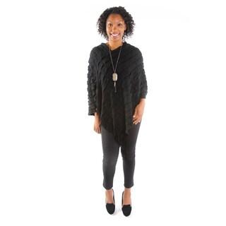 Hadari Women's Black Pullover Top