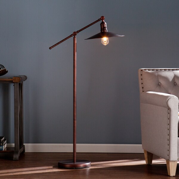 Harper Blvd Vannes Copper/Bronze Steel Floor Lamp