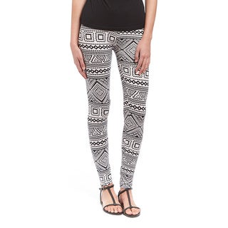 Black and White Aztec Legging