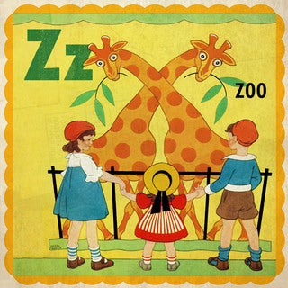 Marmont Hill 'Zoo' by Curtis Painting Print on Canvas