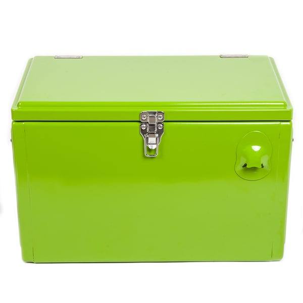 Hio 20 Qt Steel Cooler Lunch Box Picnic Cooler Retro