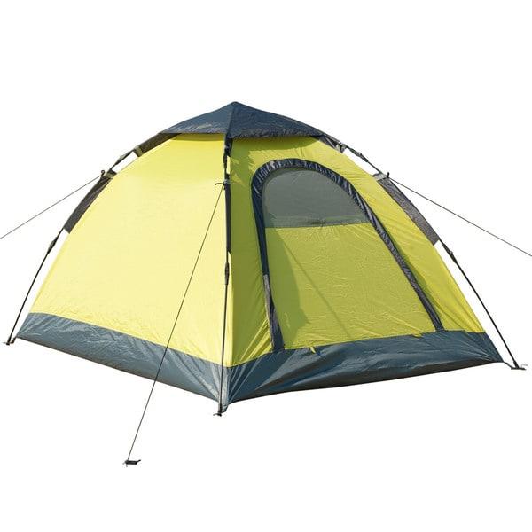 Semoo Lightweight Water Resistant Instant Tent ,D-Shape Door, 2 Person, 3-Season Tent with Carry Bag