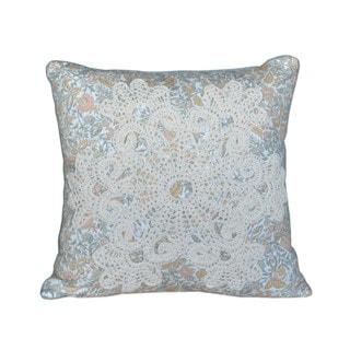 Nostalgia Home French Chain Square Decorative Pillow