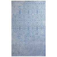 Herat Oriental Indo Hand-tufted Khotan Wool Rug - 7'6 x 9'6