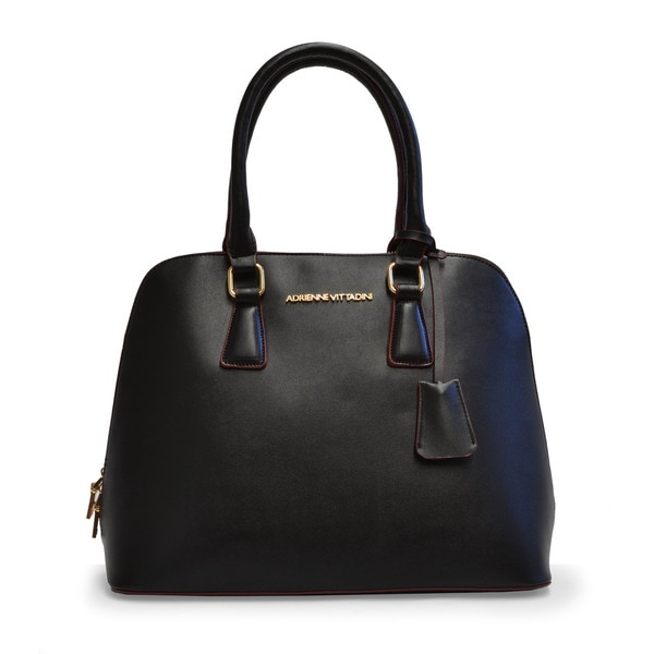 Adrienne Vittadini City Slicker Dome Satchel Handbag