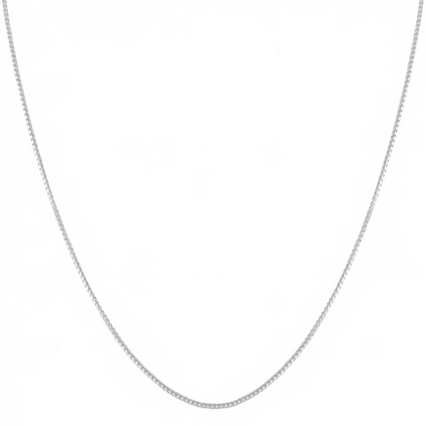 Fremada Italian Sterling Silver 1.1-mm Round Box Chain (16 - 36 inches)
