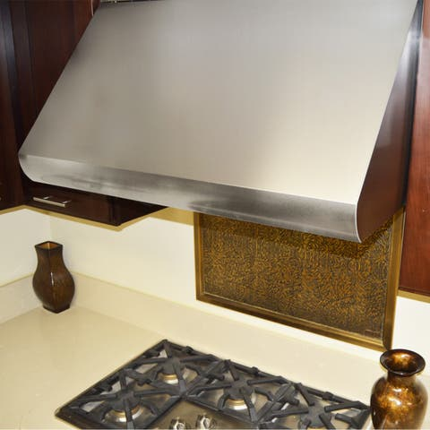 "KOBE CH0042SQB-5 Deluxe 42"" Under Cabinet Range Hood, 3-Speed, 1100 CFM, LED Lights, Baffle Filters"