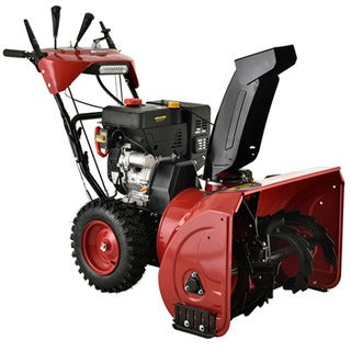 Amico Power Deluxe 28-inch 252cc Two-Stage E-Start Gas Snow Blower/Thrower With Heated Grips