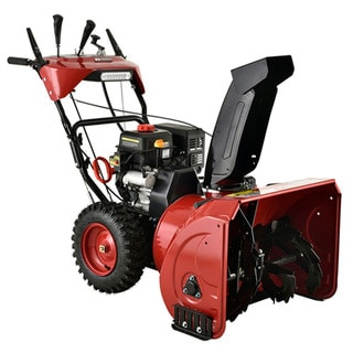 Amico Power Deluxe 30-inch 302cc Two-Stage Snow Blower/Thrower With Auto-Turn Steering And Heated Grips