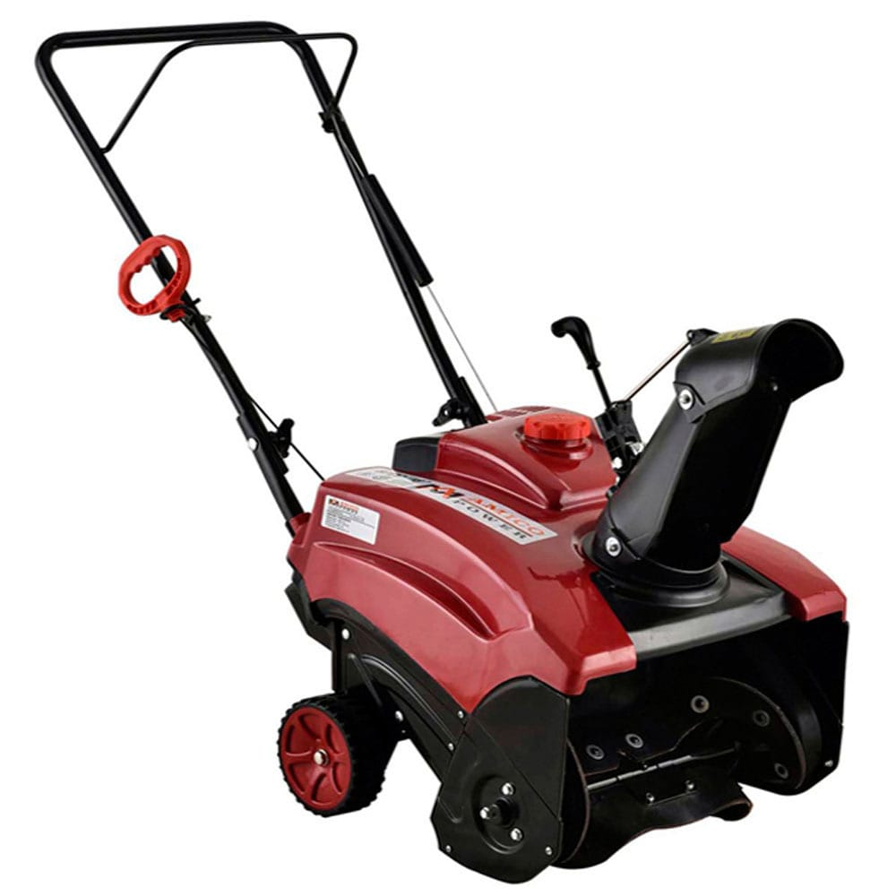 AMICO Power 18-inch 87cc Single-Stage Electric Start Gas ...