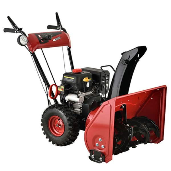 Shop Black Friday Deals On Amico Power 22 Inch 212cc Two Stage Electric Start Gas Snow Blower Thrower Overstock 11702492