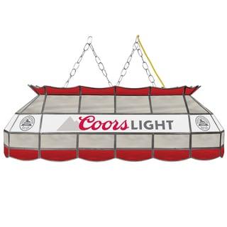 Coors Light 40-inch Handmade Tiffany Style Lamp