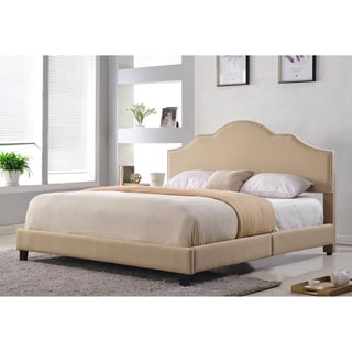 Abbyson Richmond Upholstered Queen Size Bed