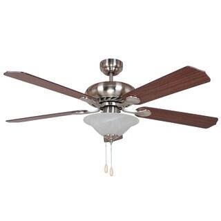 Y-Decor BODI 5-blade Brushed Nickel Ceiling Fan