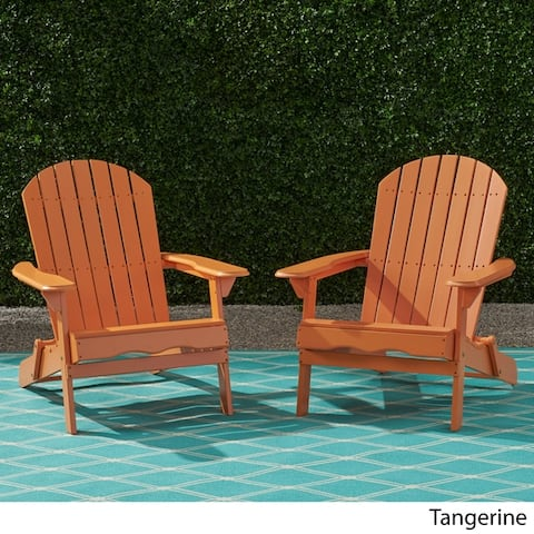 Hanlee Rustic Adirondack Chair (Set of 2) by Christopher Knight Home