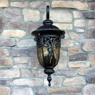 Y-Decor Hailee 1-light Oil-rubbed Bronze Metal Exterior Light