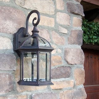 Adalyn Light Bronze Finish 1-light Exterior Venetian Light Fixture
