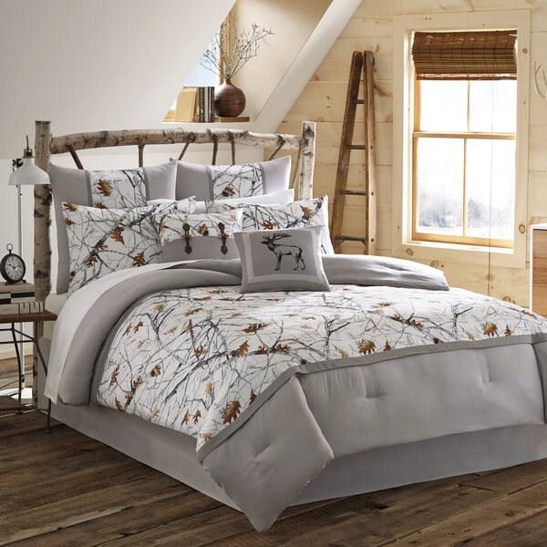 True Timber Snowfall Comforter Set