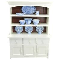 The Queen's Treasures American Farmhouse Collection Step-back Cupboard