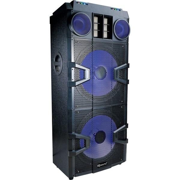 shop iq sound pro dj series speaker system 200 w rms wireless speaker free shipping today. Black Bedroom Furniture Sets. Home Design Ideas